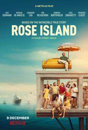 Affiche L'Incroyable Histoire de l'île de la Rose