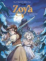 Couverture Zoya, tome 1 : Quand le grand crique me croque