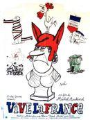 Affiche Vive la France