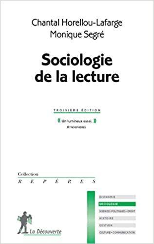 Sociologie de la lecture - Chantal Horellou-Lafarge ...