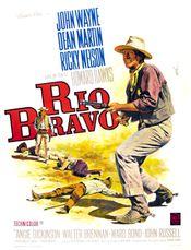 Affiche Rio Bravo