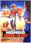 Affiche Hondo, l'Homme du désert