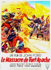 Affiche Le Massacre de Fort Apache
