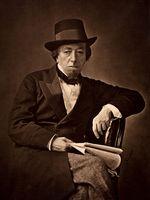 Photo Benjamin Disraeli