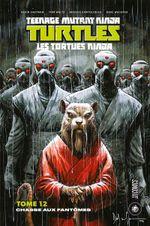 Couverture Chasse aux fantômes - Les Tortues Ninja, tome 12