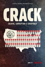 Affiche Crack : Cocaïne, corruption et conspiration
