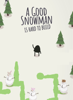 Jaquette A Good Snowman Is Hard To Build