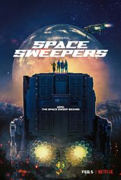 Affiche Space Sweepers
