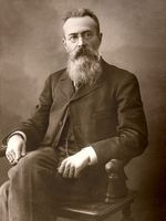 Photo Nikolai Andreyevich Rimsky‐Korsakov