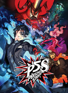 Jaquette Persona 5: Strikers