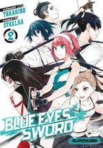 Couverture Blue Eyes Sword, tome 2