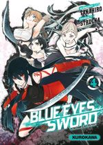 Couverture Blue Eyes Sword, tome 4