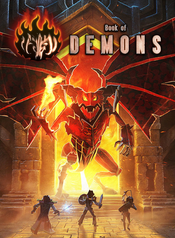 Jaquette Book of Demons