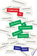 Couverture Complex TV : The Poetics of Contemporary Television Storytelling