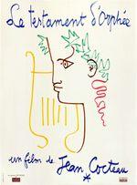 Affiche Le Testament d'Orphée