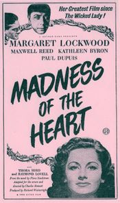 Affiche Madness of the heart