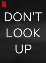 Affiche Don't Look Up