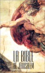 Couverture La Bible de Jérusalem