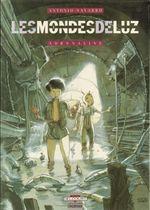 Couverture Adrénaline - Les Mondes de Luz, tome 1