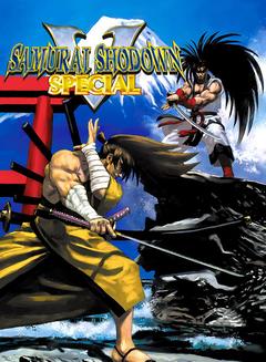 Jaquette Samurai Shodown V Special
