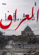 Affiche Irak, destruction d'une nation