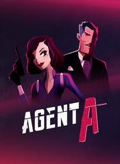 Jaquette Agent A : Casse-tête d'espions