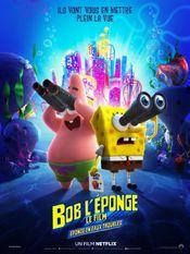 Affiche Bob l'Éponge, le film : Éponge en eaux troubles
