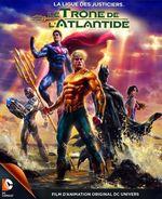 Affiche La Ligue des Justiciers : Le Trône de l'Atlantide