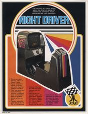 Jaquette Night Driver