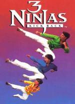 Jaquette 3 Ninjas Kick Back