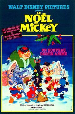 Affiche Le Noël de Mickey