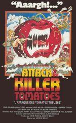 Affiche L'Attaque des tomates tueuses !