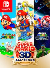 Jaquette Super Mario 3D All-Stars