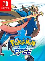 Jaquette Pokémon Épée