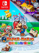 Jaquette Paper Mario: The Origami King