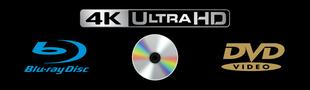 Cover Ma collection de films en Ultra HD Blu-ray 4K, Blu-ray et DVD
