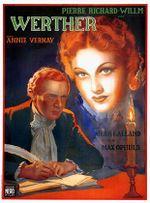 Affiche Le Roman de Werther