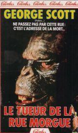 Affiche Le Tueur de la Rue Morgue