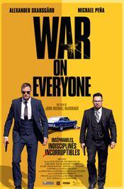 Affiche War on Everyone