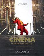 Couverture Cinéma - La grande histoire du 7ème art