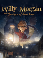 Jaquette Willy Morgan and the Curse of Bone Town