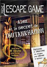Couverture Alex et le secret de Toutankhamon