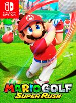 Jaquette Mario Golf : Super Rush