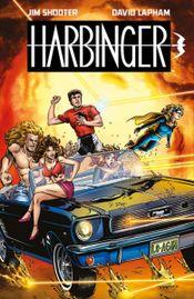 Couverture Harbinger par Jim Shooter et David Lapham