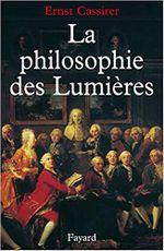 Couverture La philosophie des Lumières