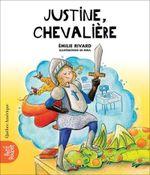 Couverture La classe de madame Isabelle T.1 : Justine, chevalière