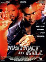 Affiche Instinct to kill