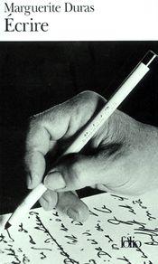 Couverture Écrire