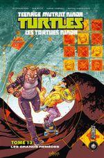 Couverture Les Grands Remèdes - Les Tortues Ninja, tome 13
