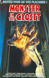 Affiche Monster in the Closet